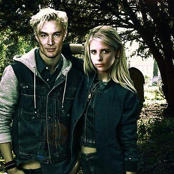 Buffy & Spike by Bulotin