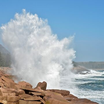Pounding Surf in Acadia National Park, ME by mdidrh