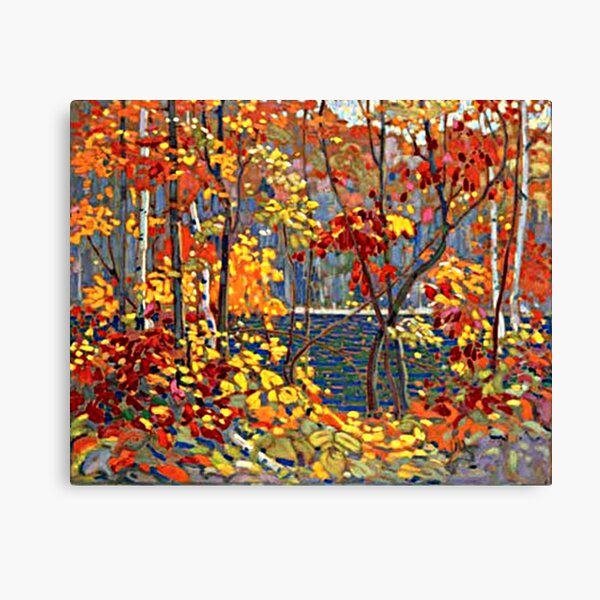 Thomson - The Pool, beautiful landscape painting Canvas Print