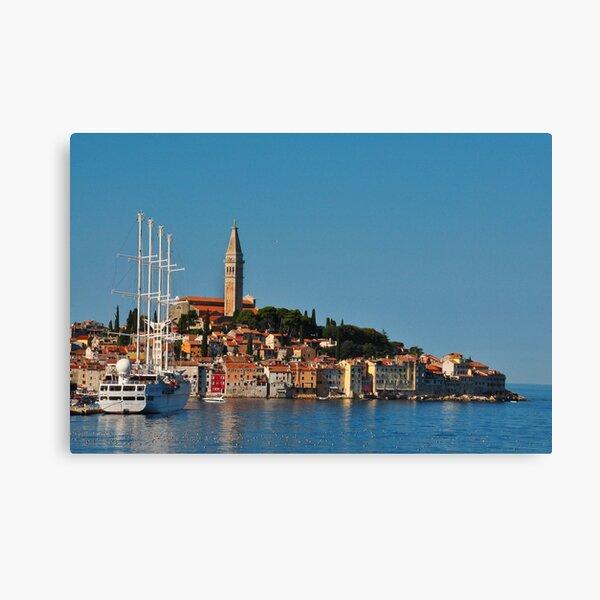 Rovinj ciudad Croacia Lienzo