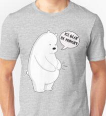 We Bare Bears - Ice Bear be hungry Unisex T-Shirt