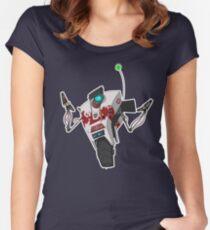 Dr. Zed's Claptrap Sticker Women's Fitted Scoop T-Shirt