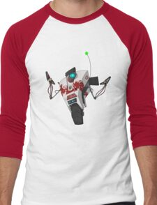 Dr. Zed's Claptrap Sticker Men's Baseball ¾ T-Shirt