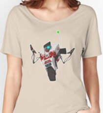 Dr. Zed's Claptrap Sticker Women's Relaxed Fit T-Shirt
