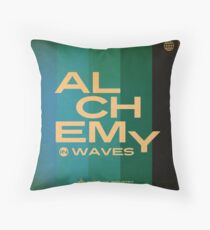 Alchemy in Waves EP Cover Throw Pillow
