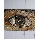 #Eye #Subway, #design, #mosaic, #art, #retrostyle, #textured by znamenski