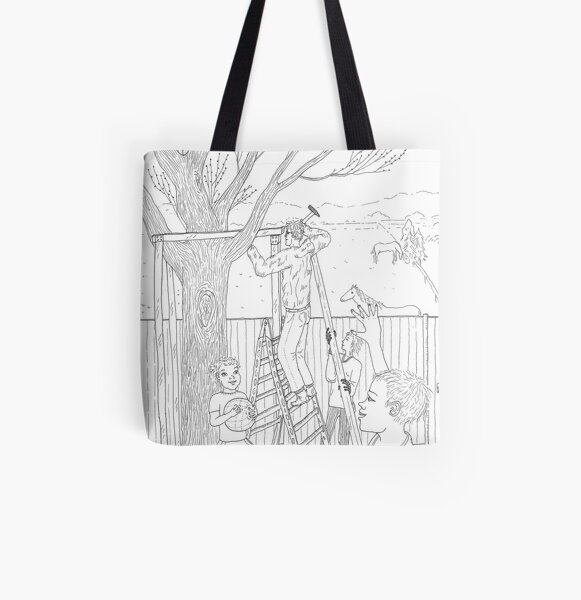 beegarden.works 011 All Over Print Tote Bag