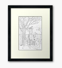 beegarden.works 011 Framed Print