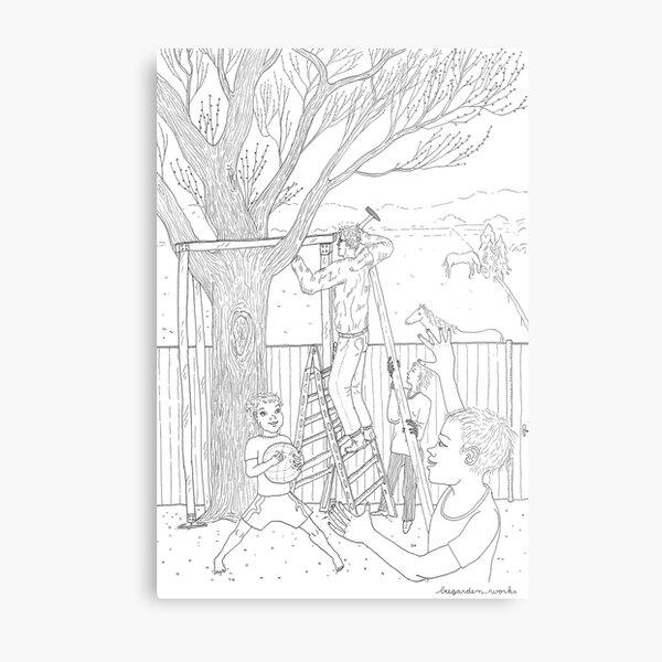 beegarden.works 011 Metal Print