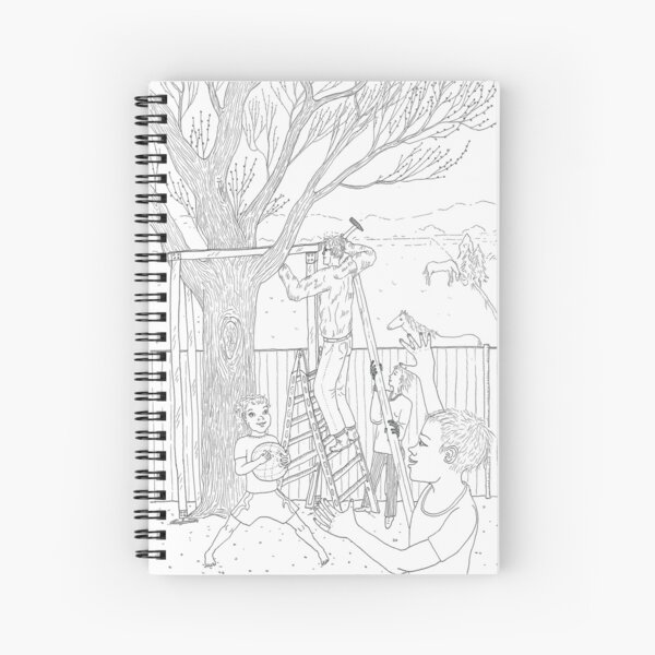 beegarden.works 011 Spiral Notebook