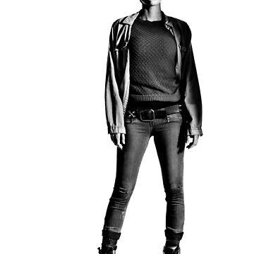 Maggie Greene - The walking Dead by RoyalT-shirts