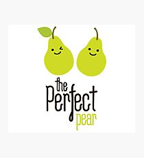 The perfect pear Photographic Print