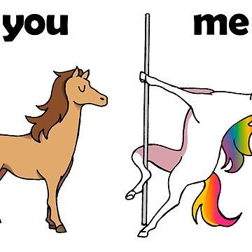 You and Me Unicorn by grupoimagine