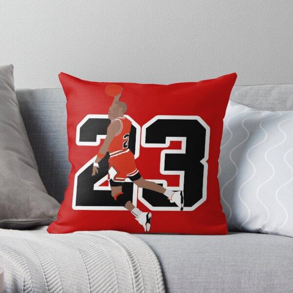 Michael Jordan Throw Pillow