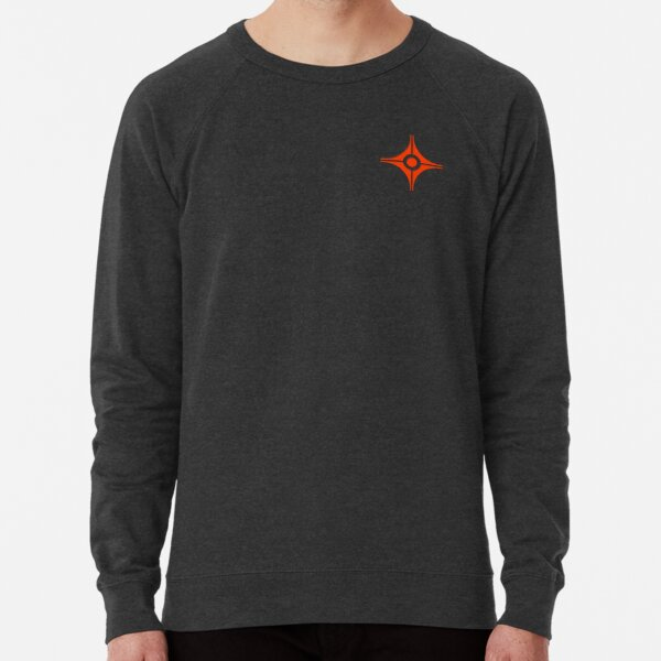 Band Logo Orange Lightweight Sweatshirt