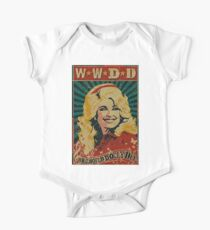 What Would Dolly Do? One Piece - Short Sleeve