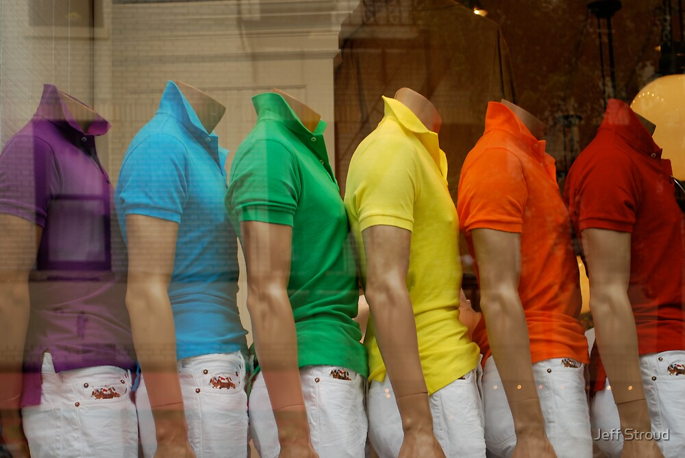 rainbow window by Jeff stroud