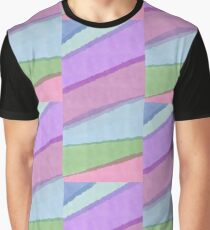 WATERCOLOR LINES MULTICOLORED Graphic T-Shirt