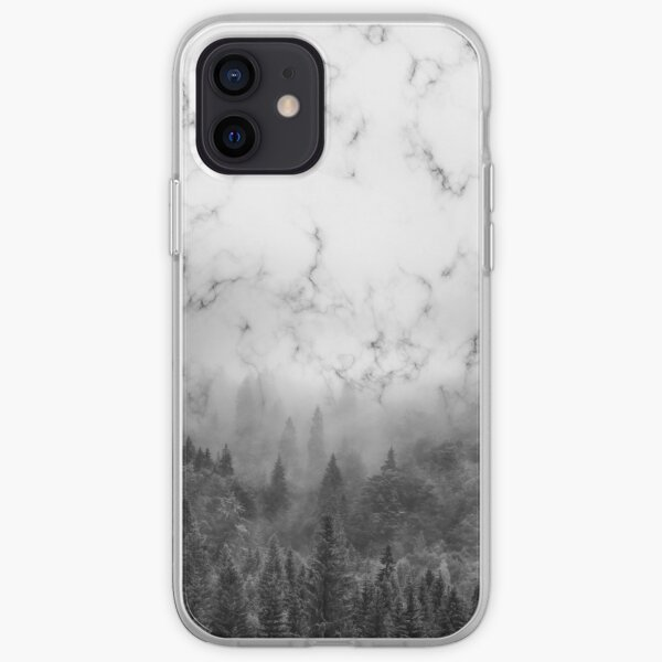 Marble Woods iPhone Soft Case