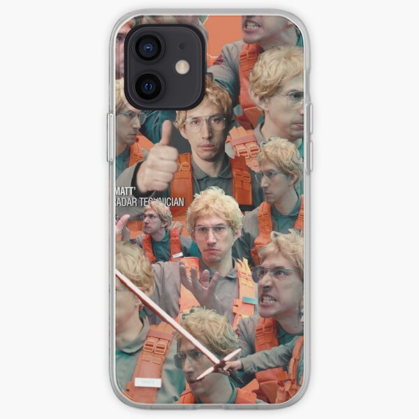 Matt The Radar Technician  iPhone Soft Case