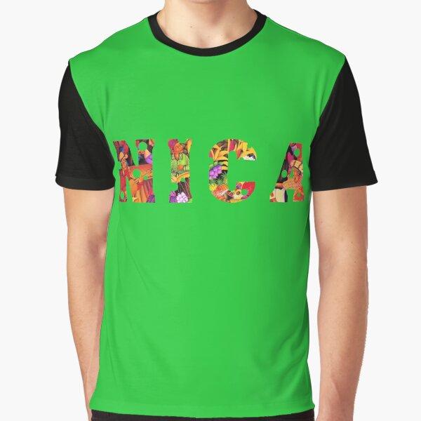 Nica Nicaragua Central America Pinolero  Graphic T-Shirt