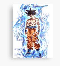 Goku Ultra Instinct Metal Print