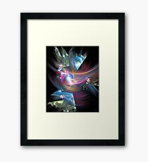 'Lightwarrior...(just one victory...)' Framed Print