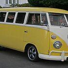 The Primrose Yellow Camper by RedHillDigital