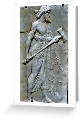 Herculaneum - Male Plaque 1 by TAMalloyPhoto