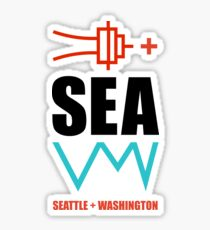 Seattle + Washington SEA Sticker