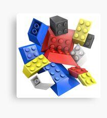 Picasso Toy Bricks Metal Print