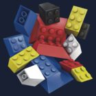 Picasso Toy Bricks by Christopher Watson
