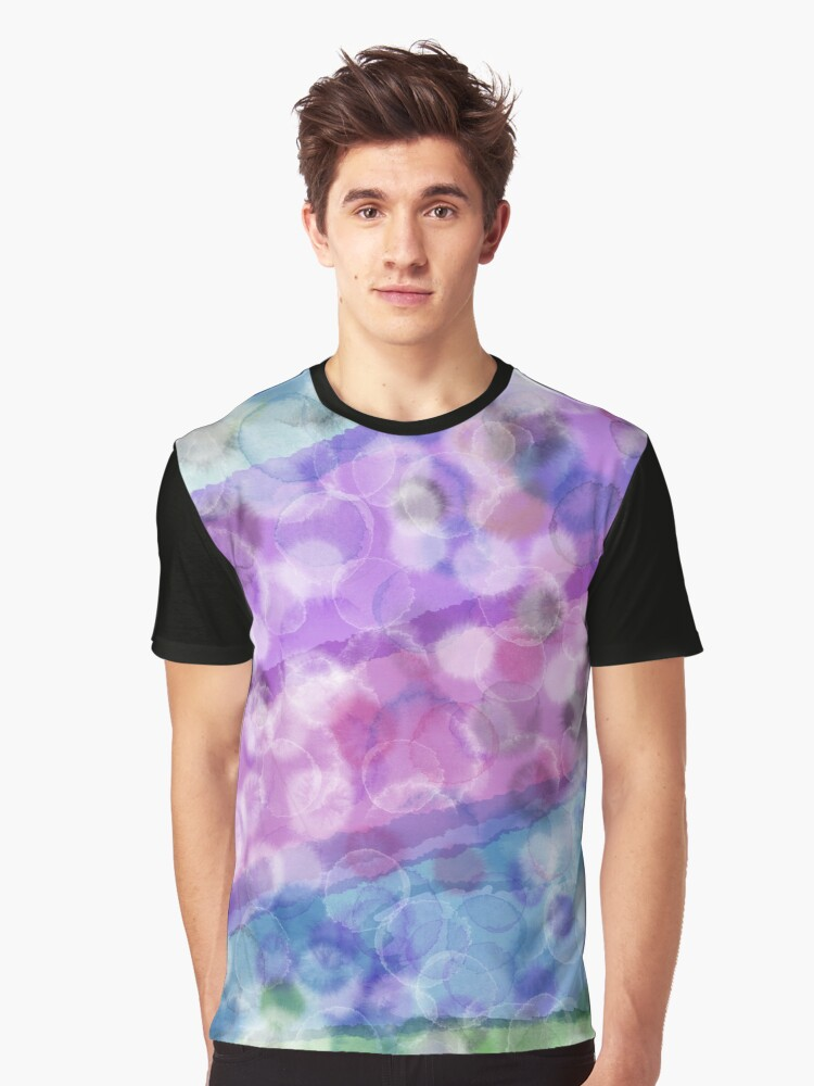 WATERCOLOR POINTS Graphic T-Shirt Front
