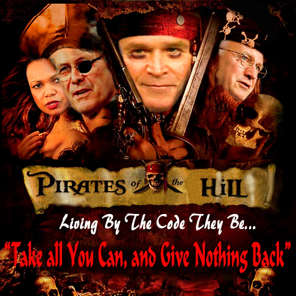 Pirates of the Hill by captphrank