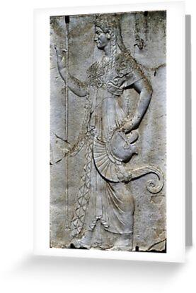Herculaneum - Female Plaque  by TAMalloyPhoto