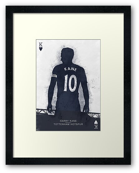 Harry Kane Tottenham Hotspur Poster Redbubble Posters And