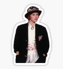 andie walsh, molly ringwald - pretty in pink Sticker