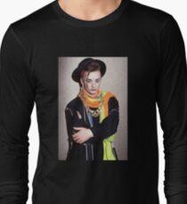 Boy George style Long Sleeve T-Shirt