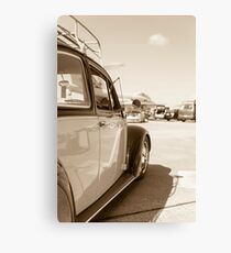 Air Force Classic VW Beetle  Canvas Print