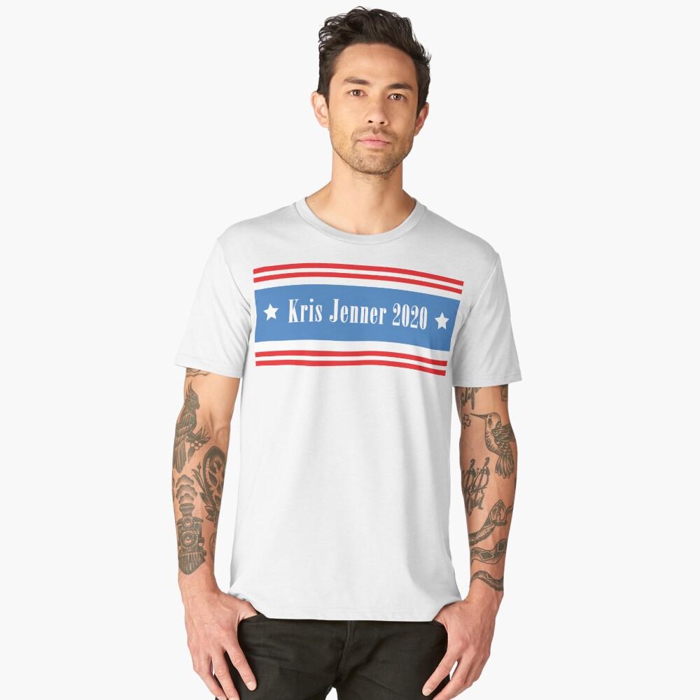 Kris Jenner 2020 Men's Premium T-Shirt Front