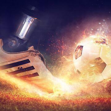 Football Soccer ball by jonce