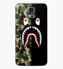 Black Bape Shark Case/Skin for Samsung Galaxy