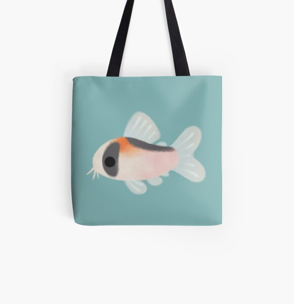 Corydoras! All Over Print Tote Bag