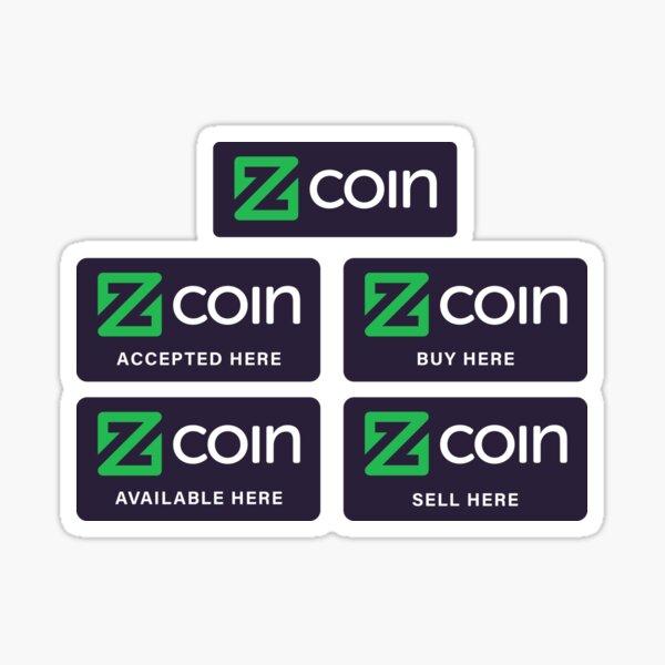 Zcoin Sticker
