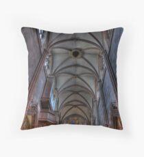 Freiburg Muenster (Church) Roof Throw Pillow