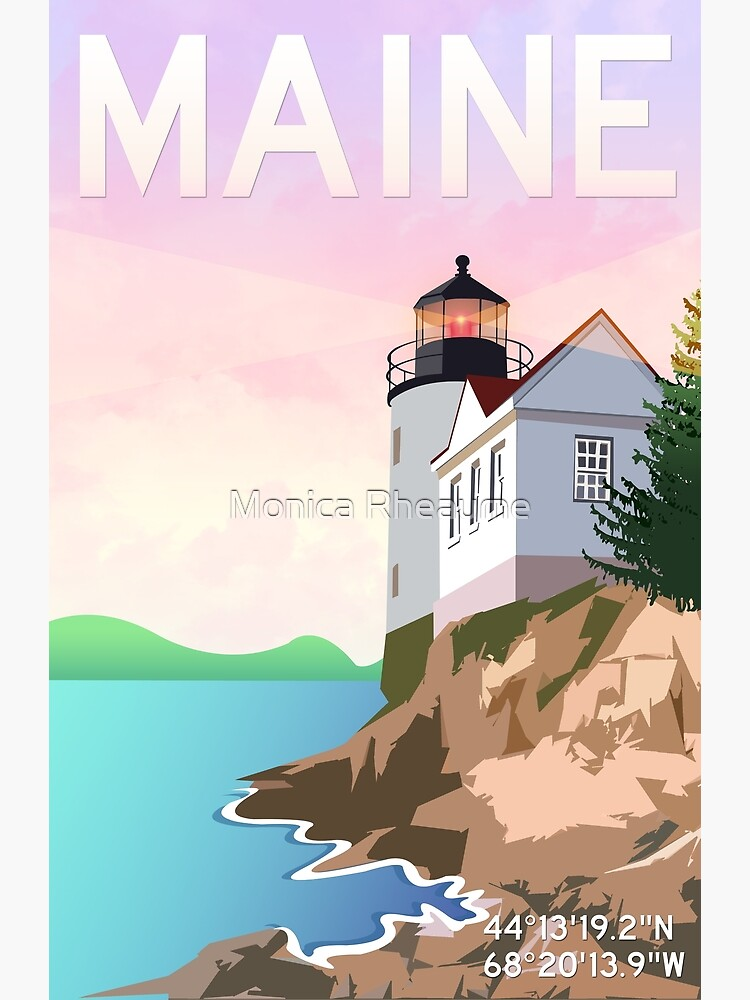 Bass Harbor Lighthouse by acetrainerchrom