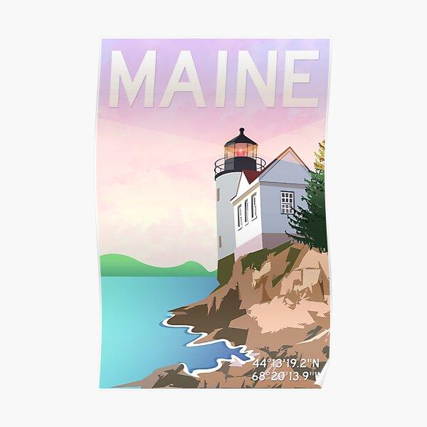 Bass Harbor Lighthouse Poster