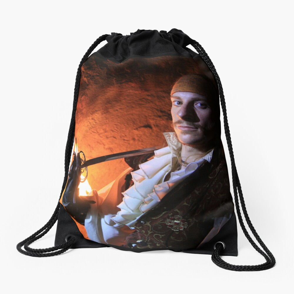 Shalomin from Gathering of Heroes: Legend of the Seven Swords Drawstring Bag