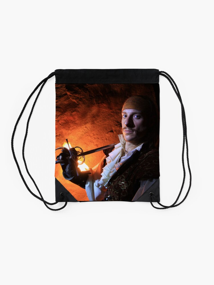 Alternate view of Shalomin from Gathering of Heroes: Legend of the Seven Swords Drawstring Bag
