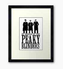 PEAKY BLINDERS Framed Print